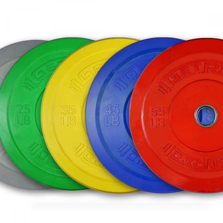Colored Premium Bumper Plates 2 0 Piece Gym Supply